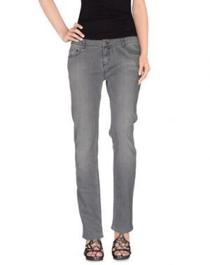Джинсовые брюки LAURENCE DOLIGÉ. Цвет: серый