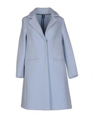 Пальто 1-ONE. Цвет: небесно-голубой