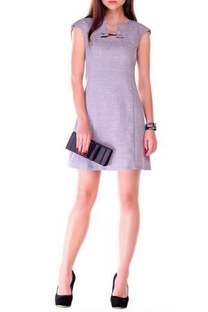 Платье REBECCA TATTI. Цвет: мокко