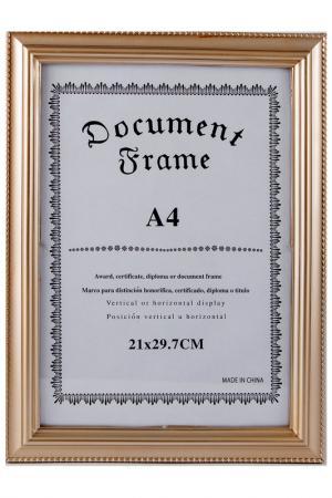 Фоторамка для фото 21х30см Русские подарки. Цвет: светло-коричневый