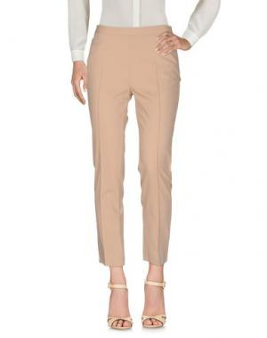 Повседневные брюки AKRIS PUNTO. Цвет: бежевый