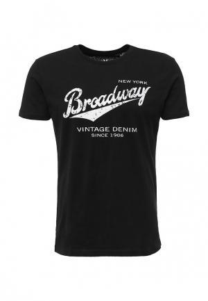 Футболка Broadway. Цвет: черный