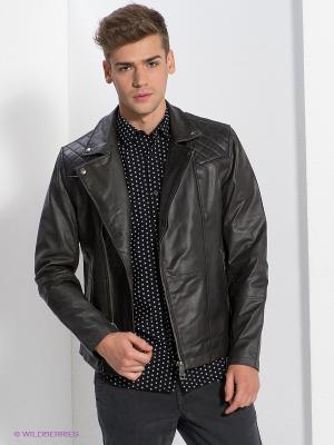 Куртка New Look. Цвет: черный