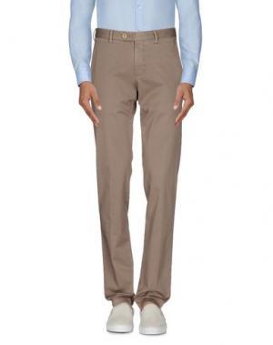 Повседневные брюки GERMANO. Цвет: хаки