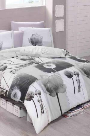 Double Quilt Cover Set Victoria. Цвет: white, grey, black