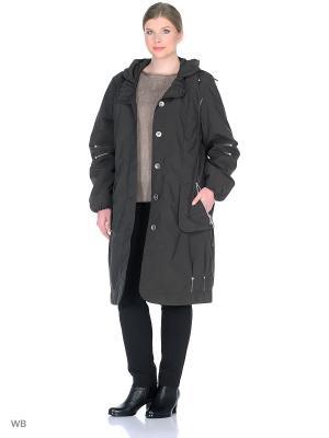Пальто Одри VIKO. Цвет: темно-серый
