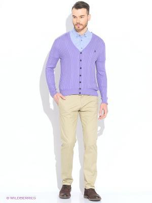 Кардиган U.S. Polo Assn.. Цвет: фиолетовый