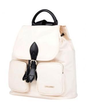 Рюкзаки и сумки на пояс TWIN-SET Simona Barbieri. Цвет: слоновая кость
