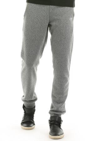 Флисовые брюки Hot Buttered. Цвет: light grey