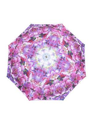 Зонт Slava Zaitsev. Цвет: фиолетовый, розовый