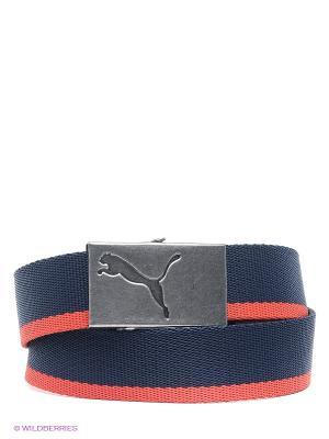 Puma Core Webbing Belt. Цвет: темно-синий