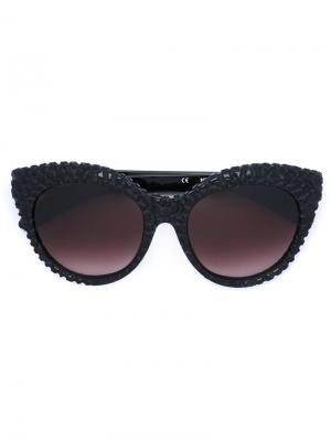 Солнцезащитные очки Mask D3 Kuboraum. Цвет: чёрный