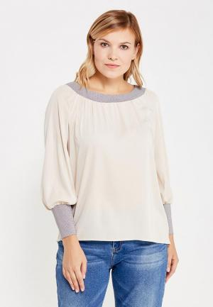 Блуза Moe L&L. Цвет: бежевый