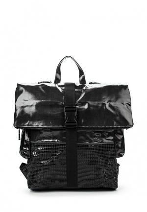 Рюкзак Sisley. Цвет: черный