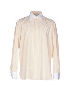 Pубашка STEFANO RICCI. Цвет: абрикосовый