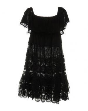 Короткое платье ANJUNA. Цвет: черный