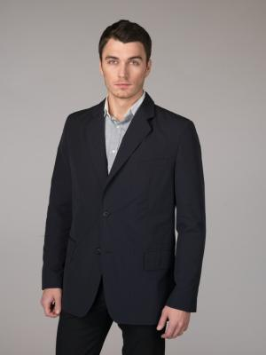 Пиджак Paxton. Цвет: темно-синий