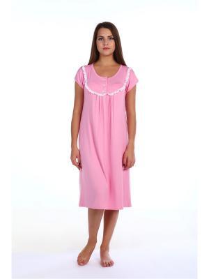 Ночная сорочка Pastilla. Цвет: бледно-розовый