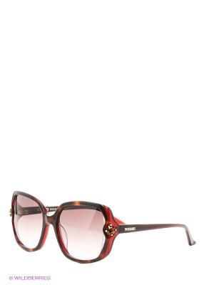 Солнцезащитные очки MI 781S 03 Missoni. Цвет: бордовый