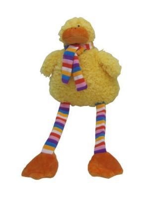 Игрушка мяг  Полосатики Утенок 22см Склад Уникальных Товаров. Цвет: желтый