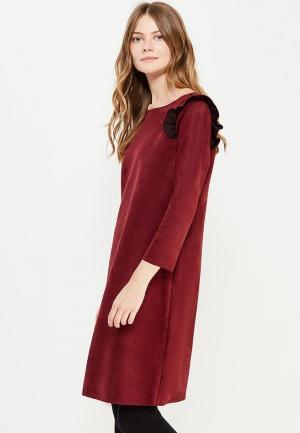 Платье Cortefiel. Цвет: бордовый
