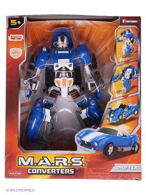 Робот трансформер Hap-P-Kid. Цвет: синий, белый
