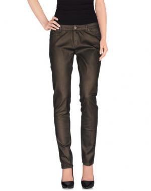 Джинсовые брюки SUPERFINE. Цвет: бронзовый