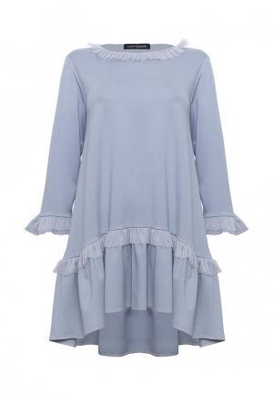 Платье Lucky Move. Цвет: серый