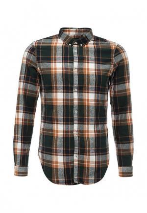 Рубашка Warren Webber. Цвет: зеленый