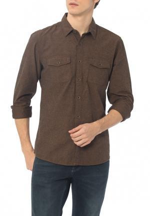 Рубашка LC Waikiki. Цвет: коричневый