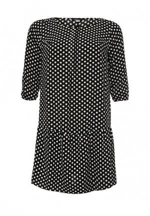 Платье Silver String. Цвет: черный