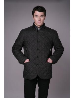 Укороченное пальто Paxton. Цвет: темно-синий