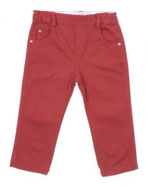 Повседневные брюки GUSELLA. Цвет: красно-коричневый