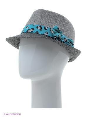 Шляпа Maxval. Цвет: светло-серый