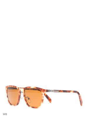 Очки солнцезащитные PRADA. Цвет: оранжевый