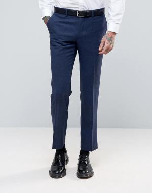 Harry Brown Узкие брюки. Цвет: синий