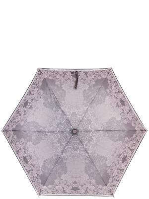 Зонт Labbra. Цвет: серый, светло-бежевый, светло-серый
