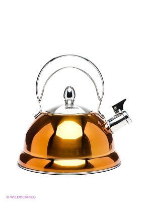 Чайник Bekker. Цвет: коричневый