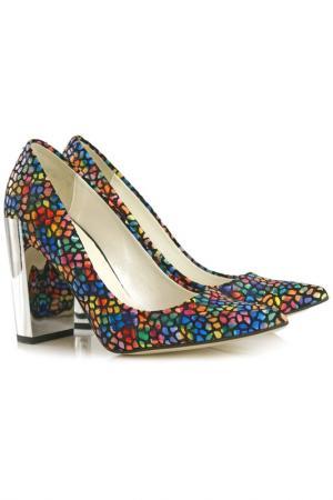 Туфли на каблуке BOSCCOLO. Цвет: мультицвет