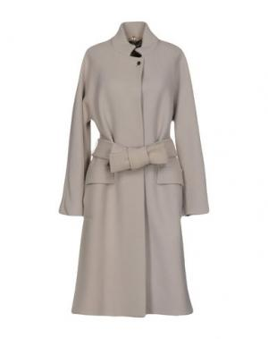 Пальто N_8. Цвет: светло-серый