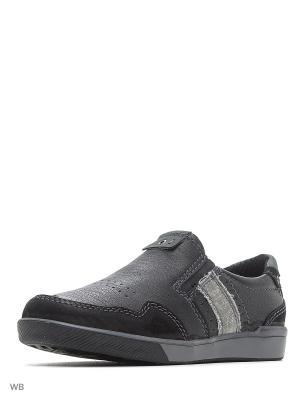 Ботинки Walrus. Цвет: черный, серый