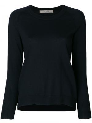 Пуловер с длинными рукавами  La Fileria For Daniello D'aniello. Цвет: синий