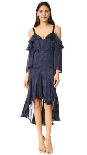 Платье Midnight Allure Talulah. Цвет: темно-синий