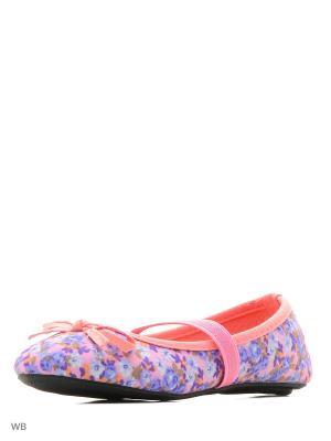 Балетки Modis. Цвет: фиолетовый, бледно-розовый