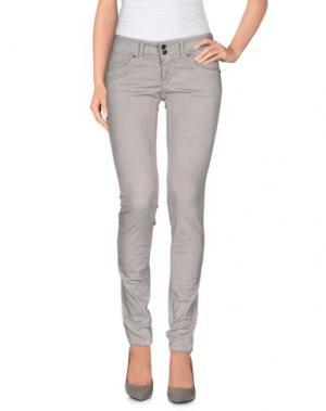 Повседневные брюки GOOD MOOD. Цвет: светло-серый