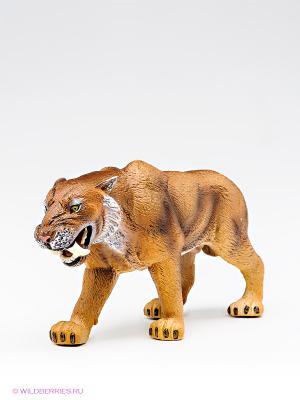 Саблезубая кошка MOJO. Цвет: светло-коричневый