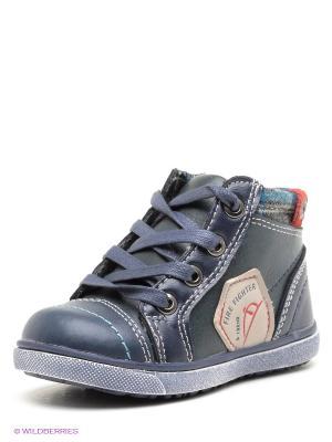 Ботинки Dummi. Цвет: темно-синий
