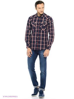 Рубашка Trussardi. Цвет: бордовый