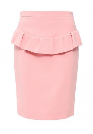 Юбка Boutique Moschino. Цвет: розовый