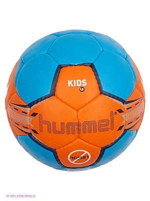 Мяч 1.5 KIDS HUMMEL. Цвет: синий, оранжевый